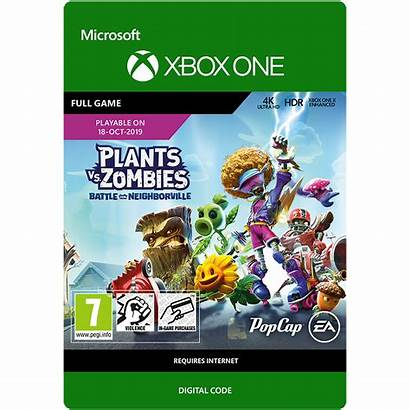 Zombies Plants Neighborville Battle Edition Standard Xbox