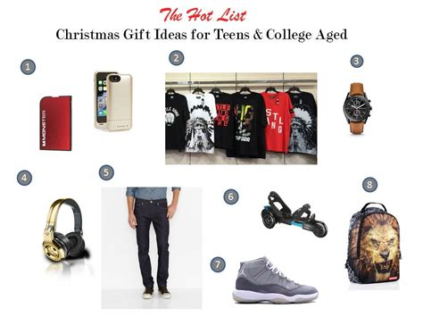 Christmas Gift Giving Guide For Tweens Teens And College