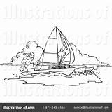 Catamaran Template Clipart sketch template
