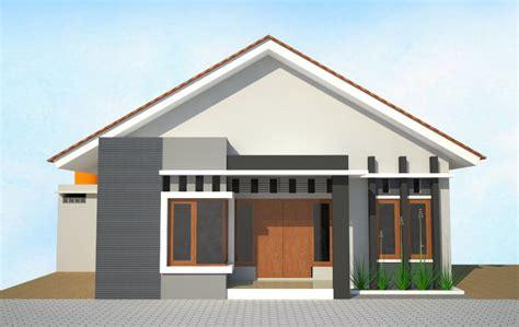 contoh desain rumah sederhana  cantik rumah
