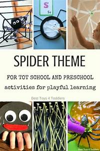 Fun, With, Spider, Theme, Activities, For, Tot, School, And, Preschool