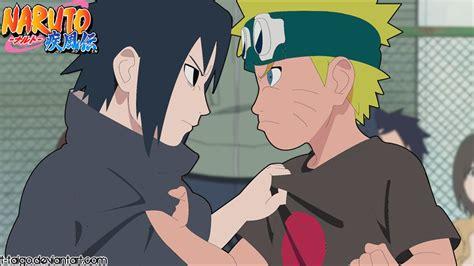 Naruto Young And Sasuke Young By T-taigo On Deviantart