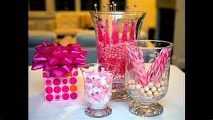 Cute Girl baby shower centerpiece ideas - YouTube