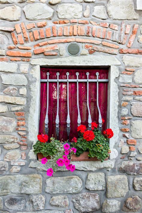 floral decoration  tuscany stock image image