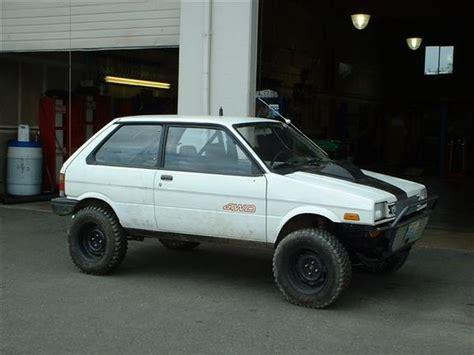 subaru justy lifted liftedjusty88 1988 subaru justy specs photos