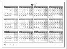 Calendarios 2019 LD