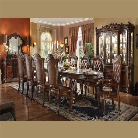 traditional dining room sets vendome traditional formal dining room cherry finish
