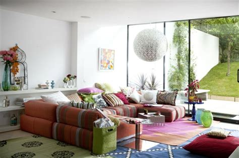 canapé orientale salon moderne d 39 inspiration marocaine