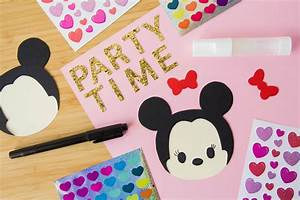 minnie mouse party invitations disney family With party city letter stickers