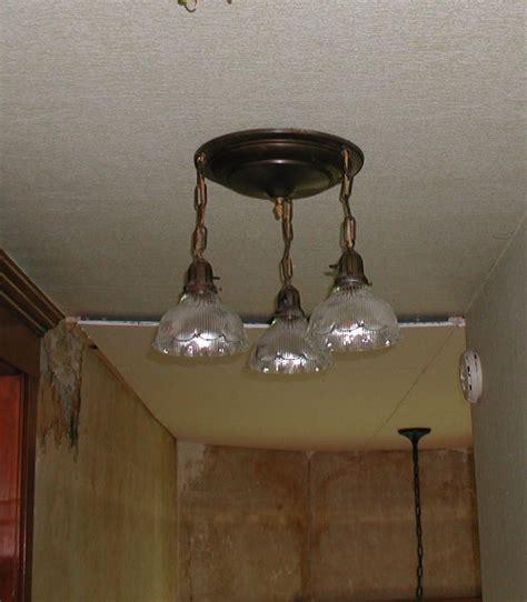 antique brass ceiling light fixture