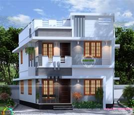 house plans 1000 square 1300 square 4 bedroom house plan kerala home
