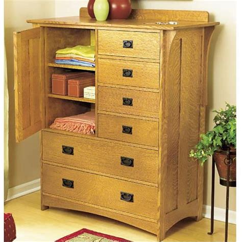 Bedroom Set Plans by Arts And Crafts Dresser Wood Magazine