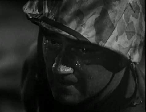 John Wayne In Sands Of Iwo Jima