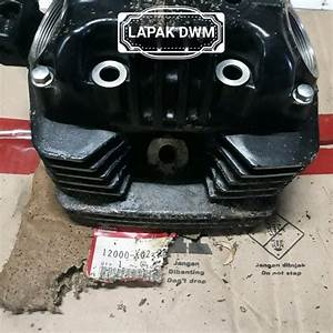 Jual Cylinder Blok Head Kop Gl Pro Series Cdi Black Engine Nos Original Japan Di Lapak D Wijaya