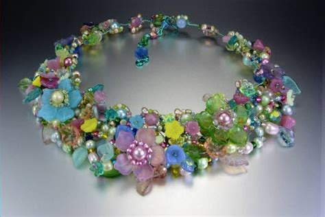 Pearl Lowe floral fantasy wire work jewelry  mary lowe 500 x 334 · jpeg