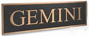 changeable sign letters by gemini sign letters com With gemini cast aluminum letters