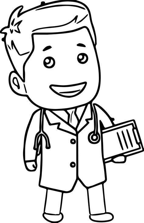 11625 doctor tools clipart black and white doctor tools clipart doctor cartoon coloring page