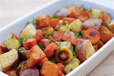 Bloggin' Back To The Land Roasted Root Vegetable Recipe