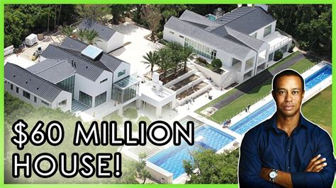 Tiger Woods: House tour della casa da 60 $ MILLION di ...