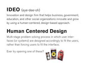 human centered design ideo human centered design toolkit