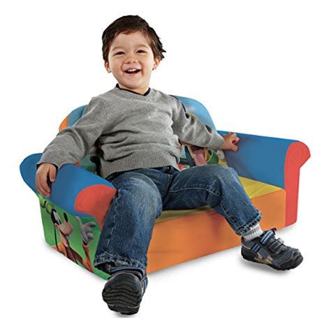 Mickey Mouse Flip Open Sofa Uk by Marshmallow Furniture Children S Upholstered 2 In 1 Flip