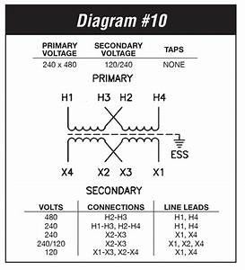 33 480 Volt To 120 Volt Transformer Wiring Diagram