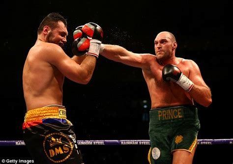 Tyson Fury closes in on dream clash with Wladimir ...
