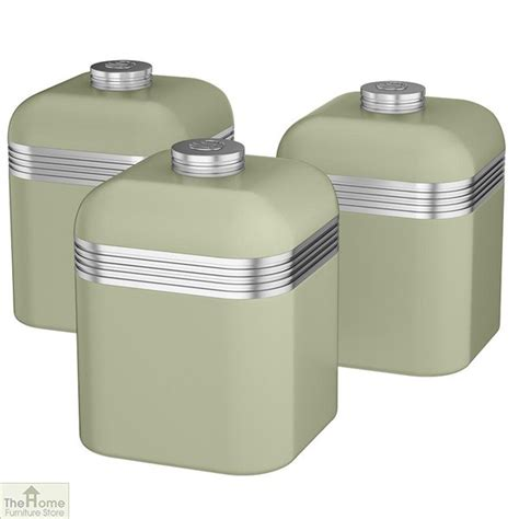 Kitchen Canisters Green by Green Retro Kitchen Canisters The Home Furniture Store