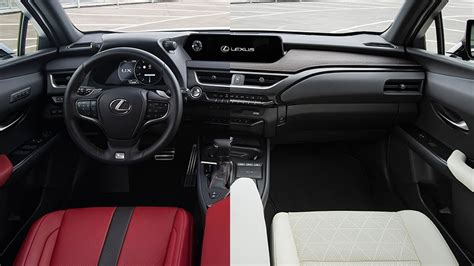 lexus ux  interior options youtube
