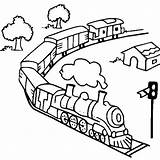Train Coloring Steam Toy Trains Railroad Diesel Track Outline Drawing Caboose Getdrawings Getcolorings Printable Netart Luna Thomas Colorluna Colorings sketch template