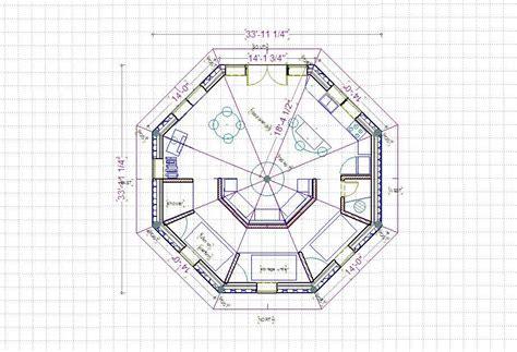walk out basement floor plans octagon house floor plan curiousity eight sided house