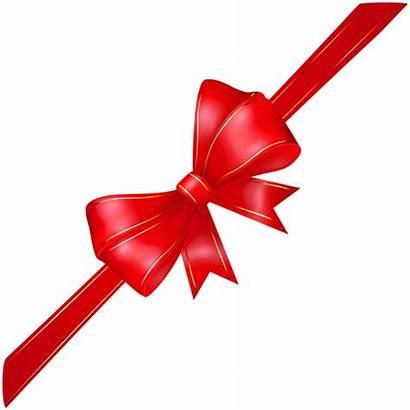 Bow Transparent Corner Ribbon Clipart Clip Borders