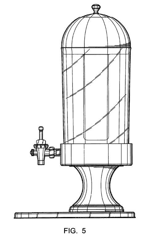 Dispense Patente by Patent Usd489930 Juice Dispenser Patenten