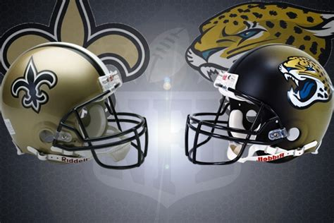 nfl week    orleans saints  jacksonville