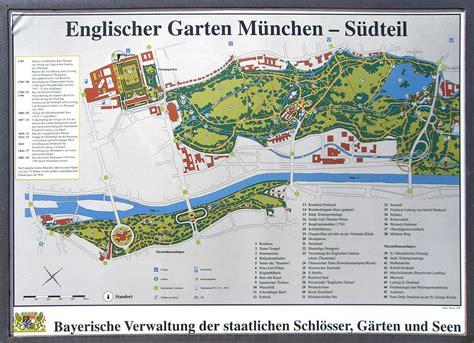 Englischer Garten Verwaltung München by Datei M 252 Nchen Englischer Garten S 252 Dtteil Plan Jpg