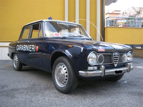 Vendo Alfa Romeo Giulia Carabinieri Per Cinema