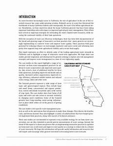 California Water Stewards: Innovative On-Farm Water ...