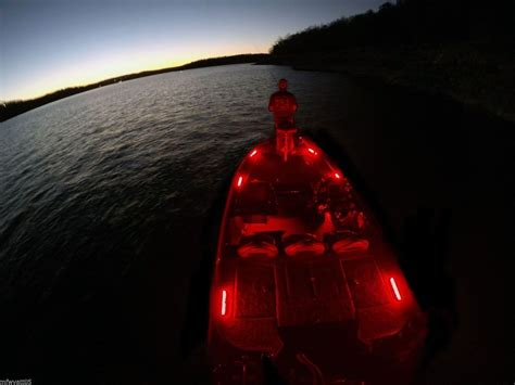 Deck Boat Lights by Led Deck Lighting Kit For Boats 6 12 Quot Black