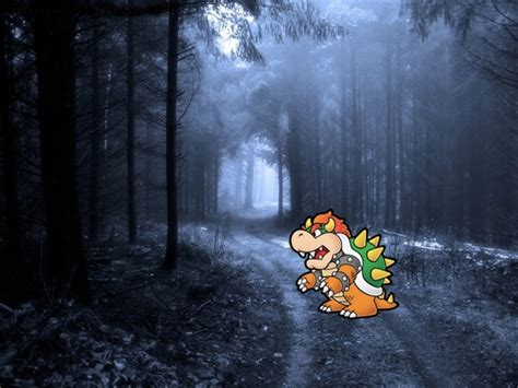 Paper Mario Bowser Real Life By Davidexposito On