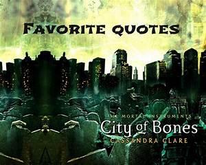 Simon City Of Bones Quotes. QuotesGram