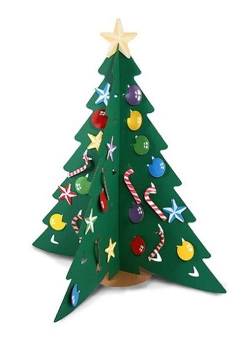 como adornar un arbol de navidad de papel 193 rboles de navidad de cart 243 n