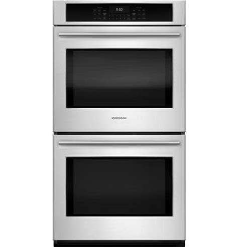 ge monogram  convection double wall oven stainless smart buy appliance outlet