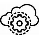 Icon Cloud Data Optimization Settings Security Management
