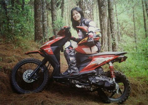 Jual Motor Modifikasi Trail by Modifikasi Motor Honda Beat Trail Modifikasi Motor Honda