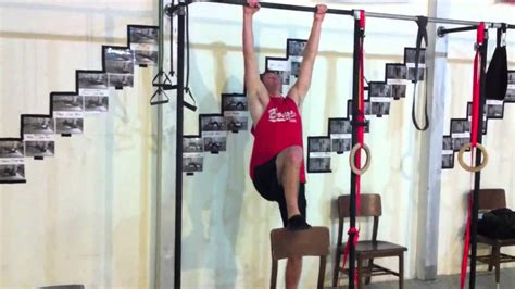 chair assisted pull up