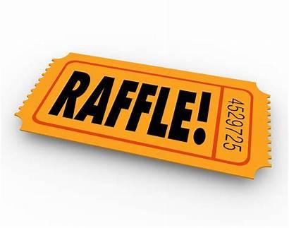 Raffle Tickets Prize Drawing Three Ticket Winner