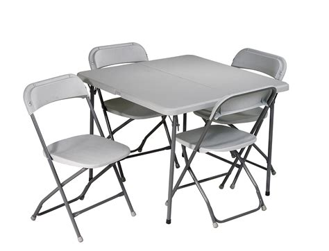 office 5 folding table and chair set by oj