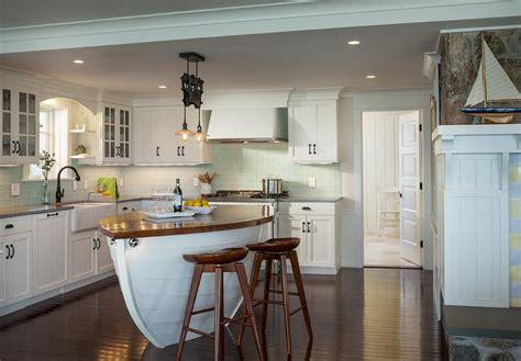 Boat Kitchen Islands-cottage-kitchen-ronald F