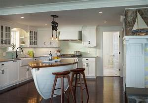 boat kitchen islands cottage kitchen ronald f With kitchen cabinet trends 2018 combined with beach theme wall art