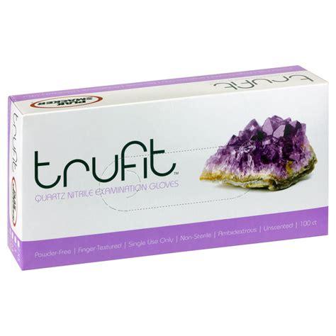 TruFit™ Quartz Nitrile Gloves (100 ct) - Young Specialties